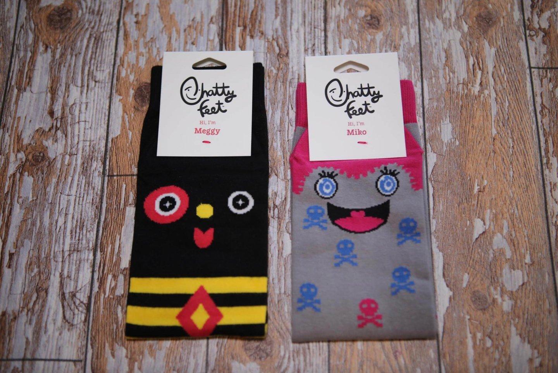 Making Socks Fun With Chattyfeet