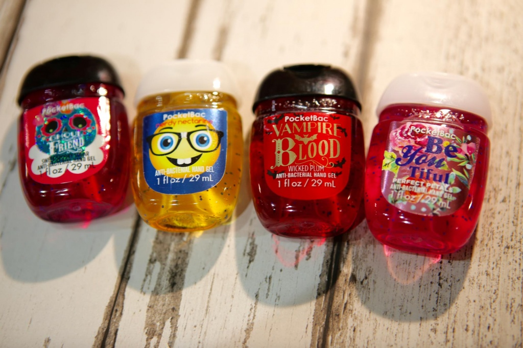 Bath and Bodyworks Sanitisers