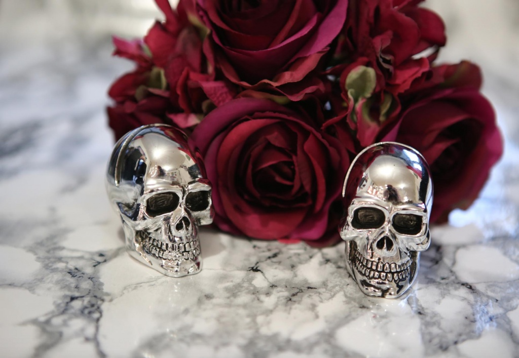Roses and Skulls