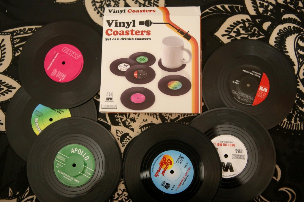 Menkind Vinyl Coasters