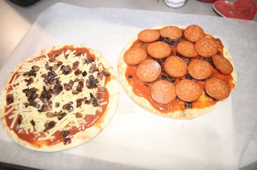 Pizza Uncooked