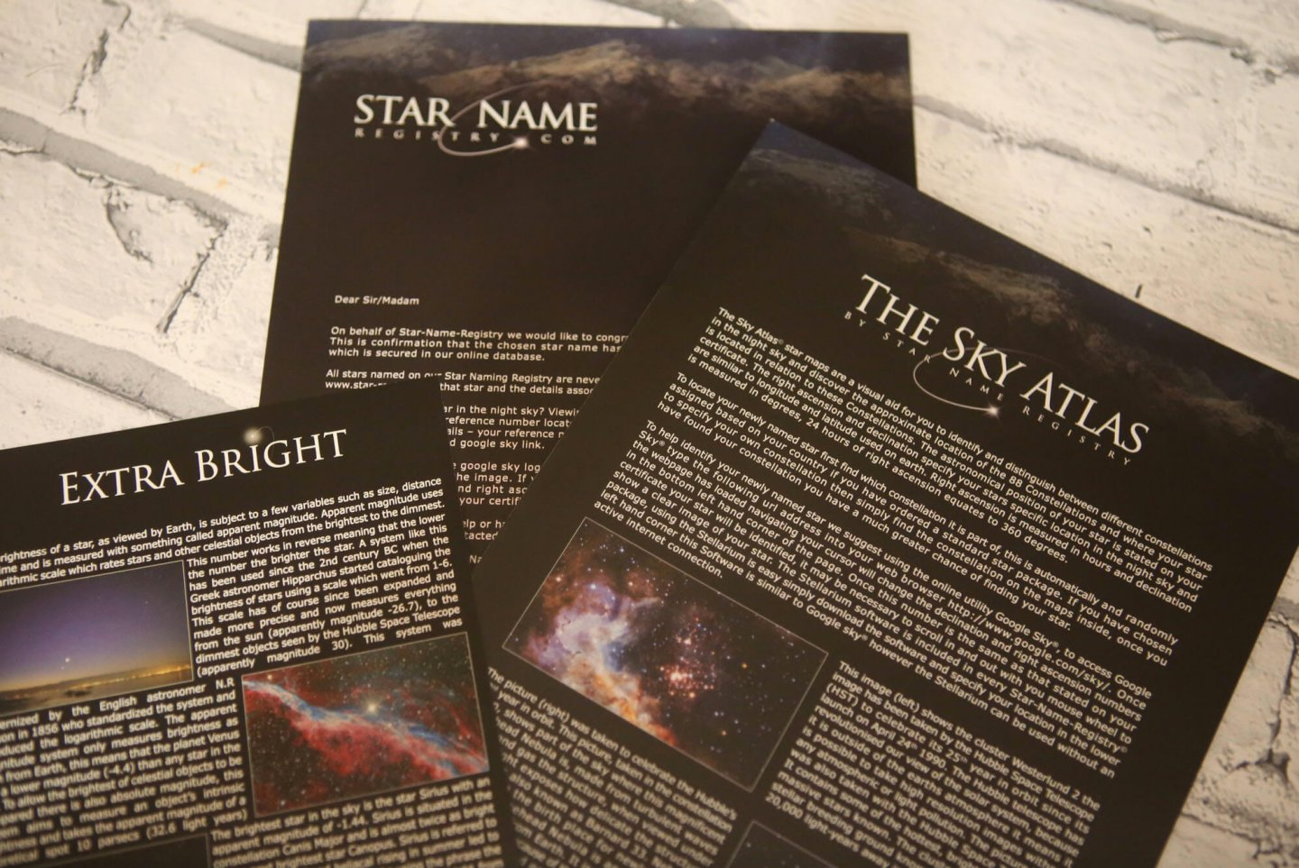 Competition : Win A Star Gift Set And Name Your Own Star