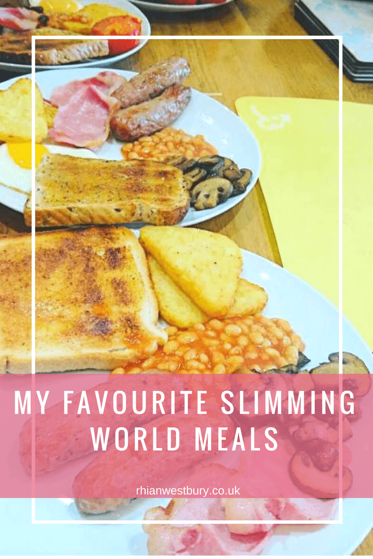 If you are doing slimming world you will love these meals!