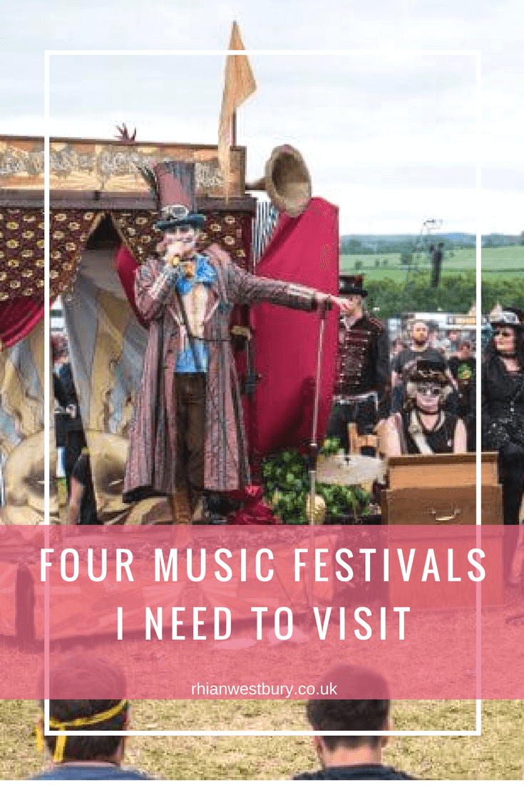 I need to visit these 4 music festivals, have you?