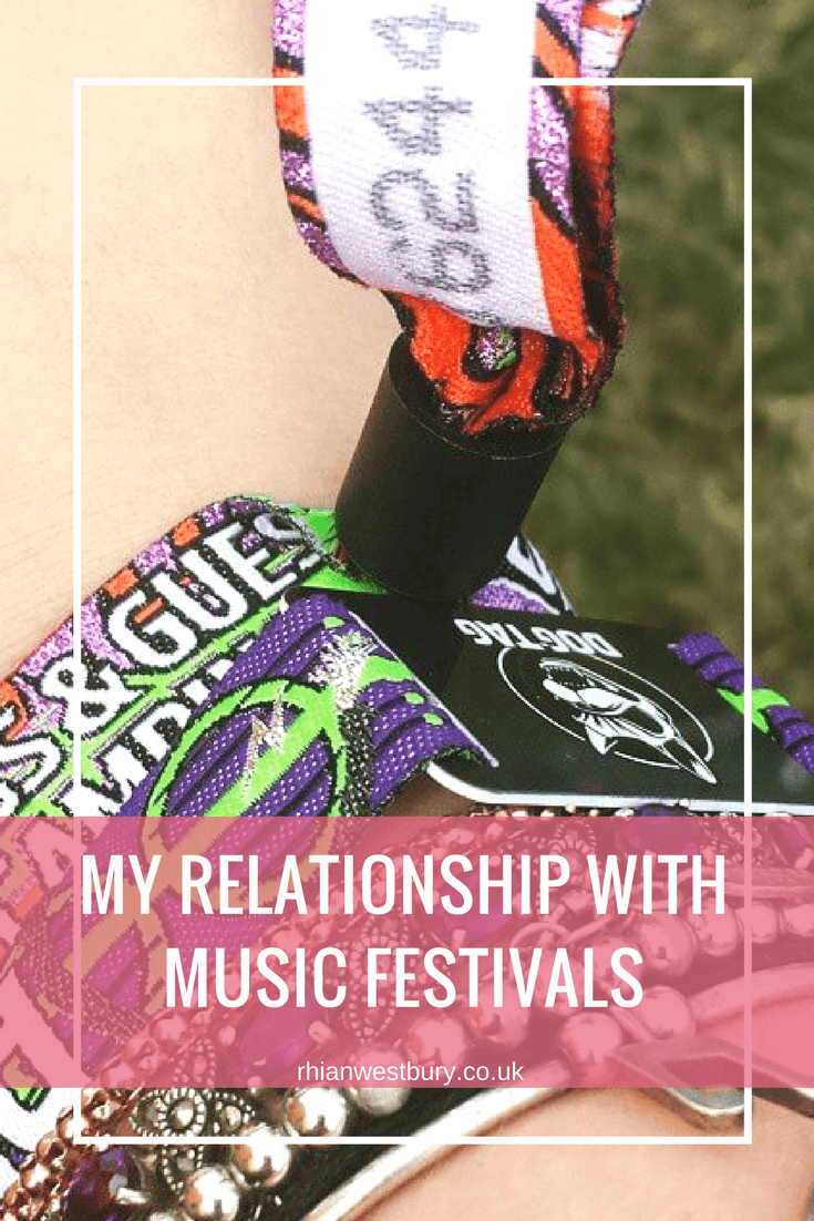 Music festivals are like Marmite, you either love them or hate them. Here is My Relationship With Music Festivals