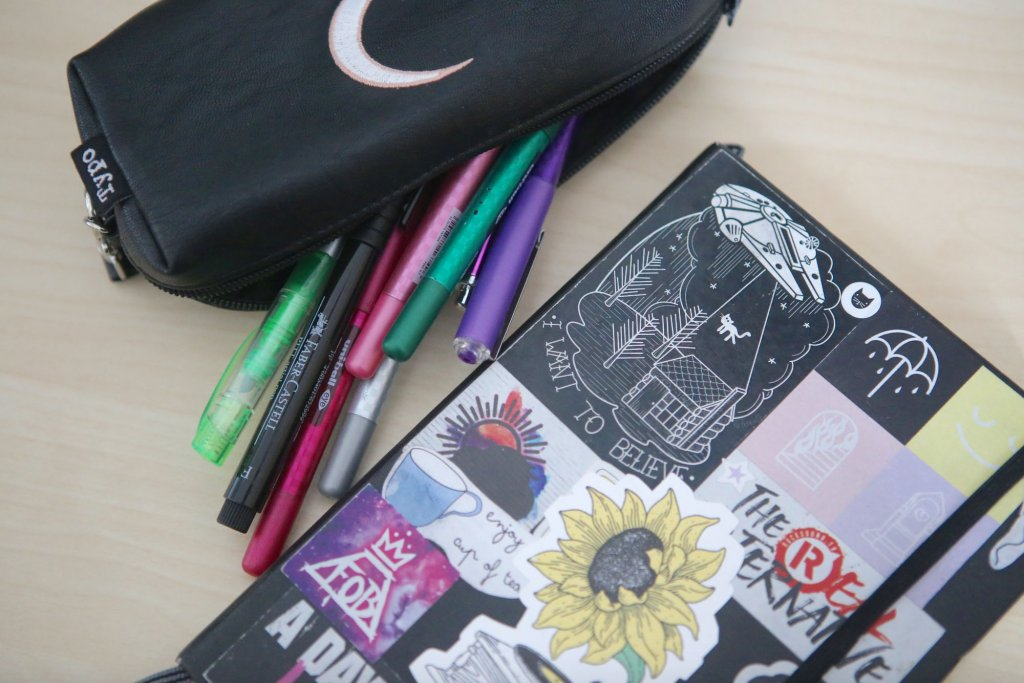Whats In My Bag Bullet Journal