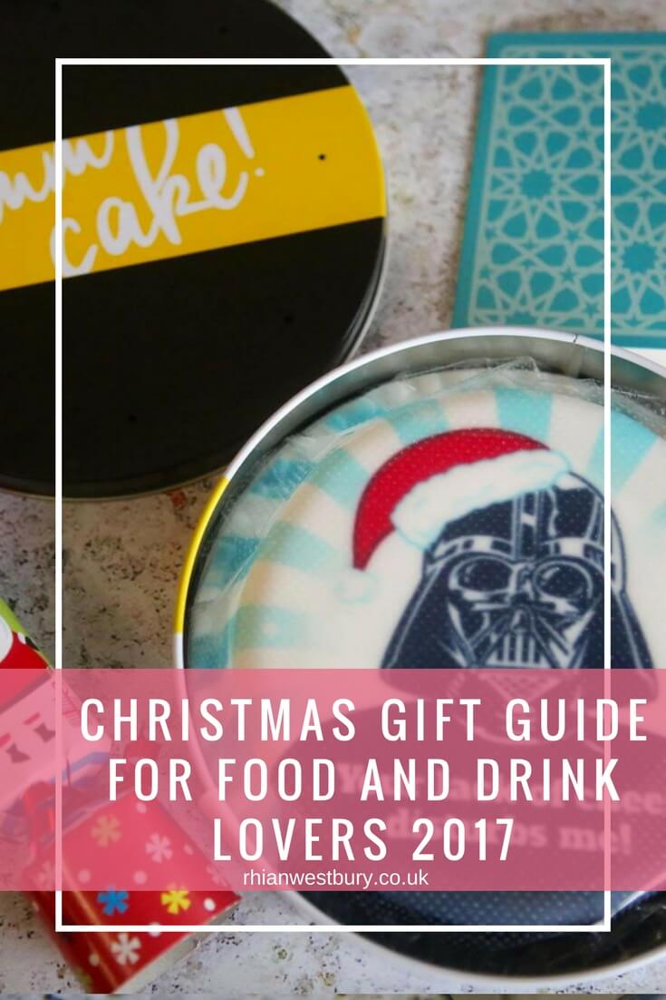 Food And Drink Christmas Gift Guide 2017