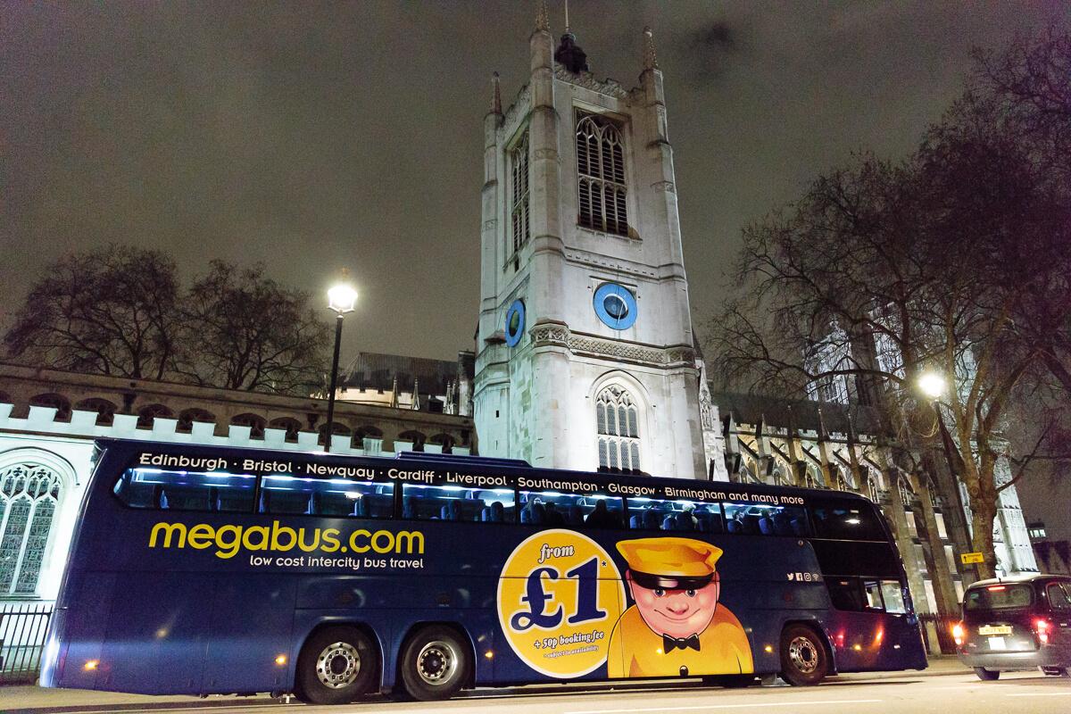 megabus mystery tour