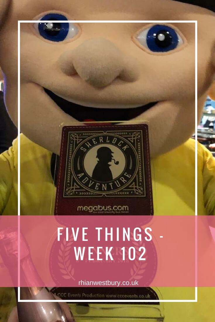 Five Things - Week 102