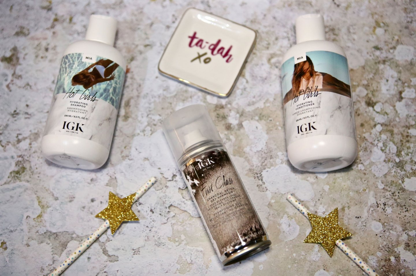 First Impressions Of IGK Haircare