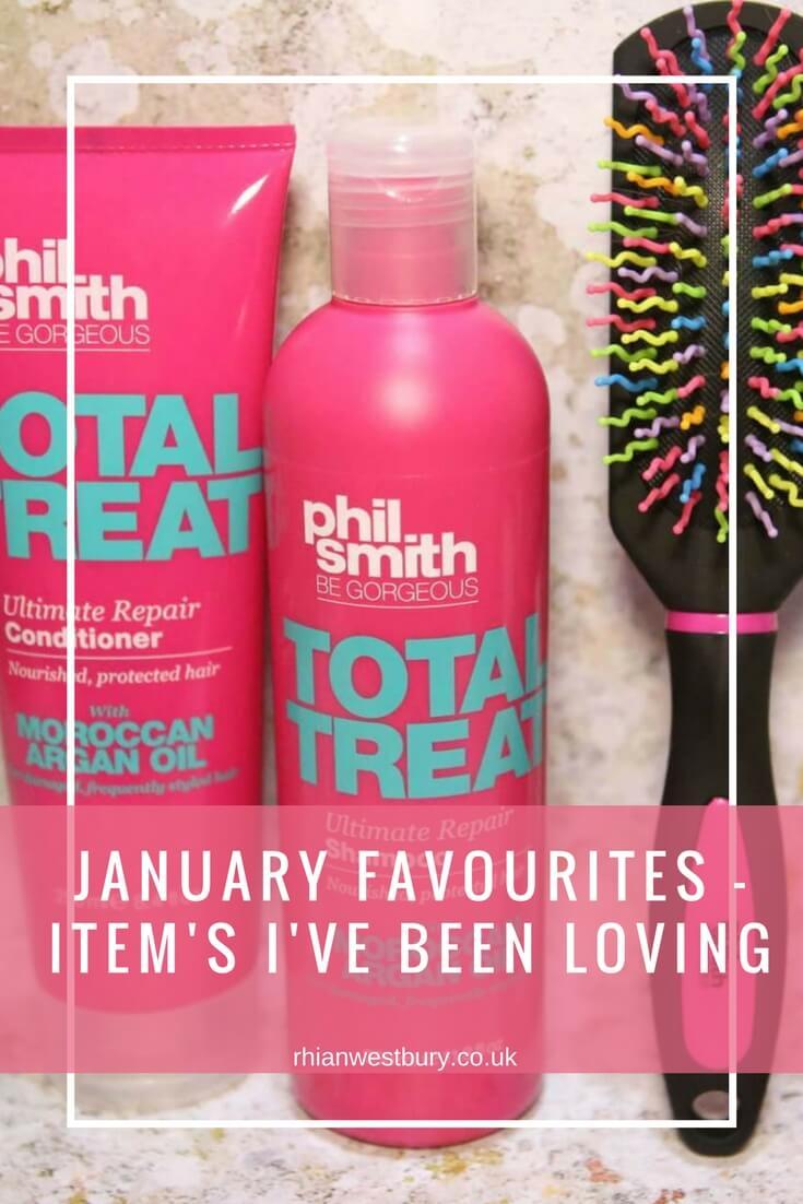 January Favourites - Item's I've Been Loving