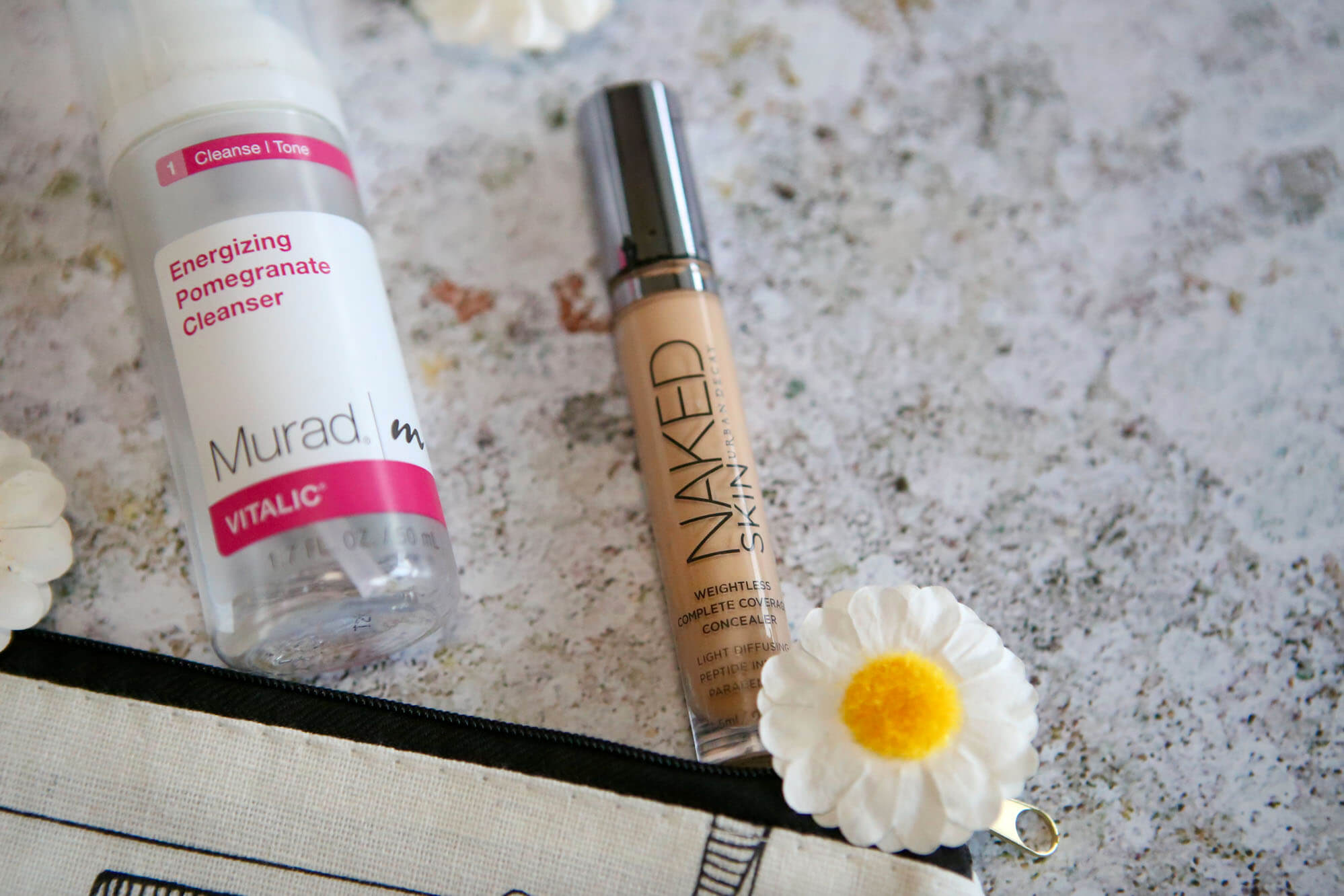 Empties Cleanser And Concealer