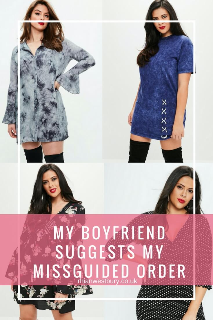 My Boyfriend Suggests My Missguided Order