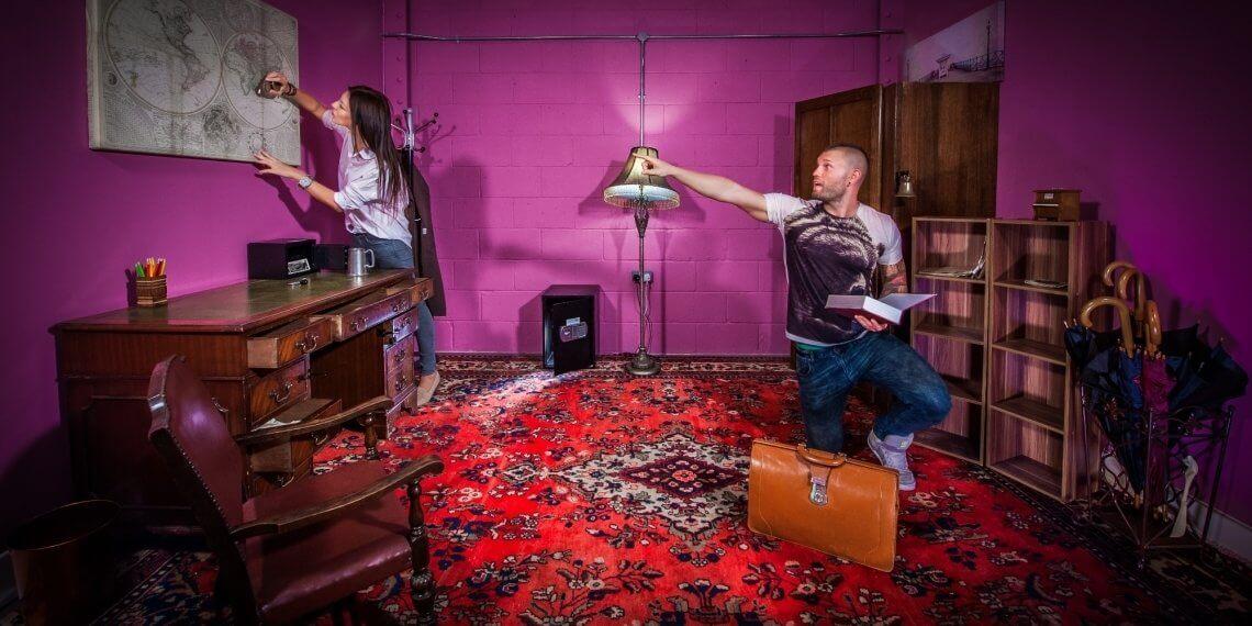 Lock'd Escape Rooms – Could We Complete Grandpa's Last Will?