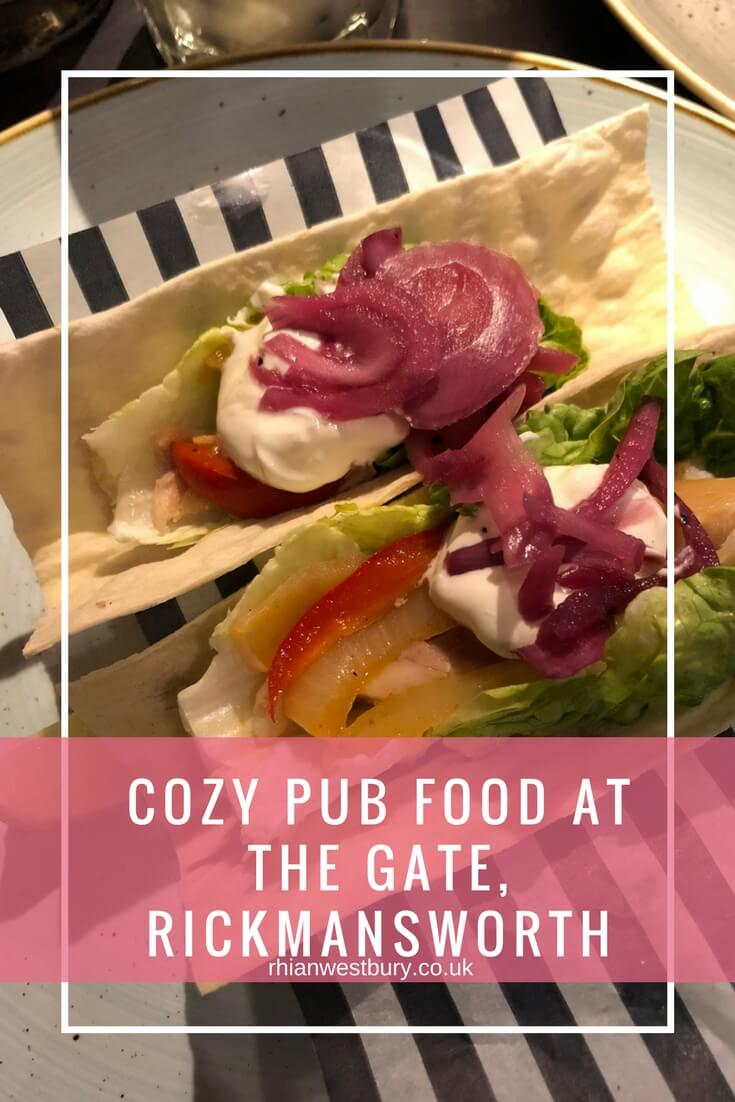 Cozy Pub Food At The Gate, Rickmansworth