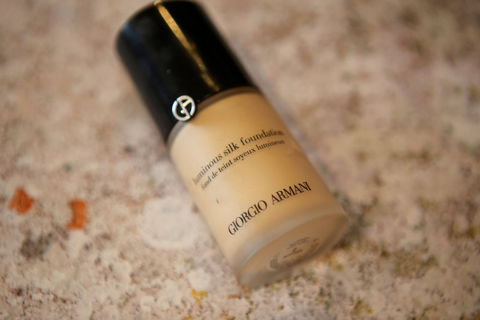 Empties Armani Foundation