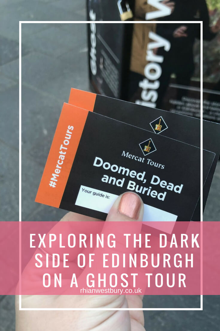 Exploring The Dark Side Of Edinburgh On A Ghost Tour