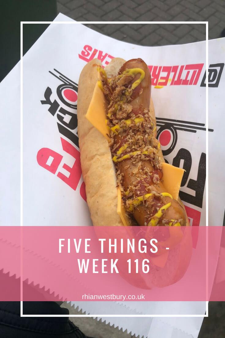 Five Things - Week 116