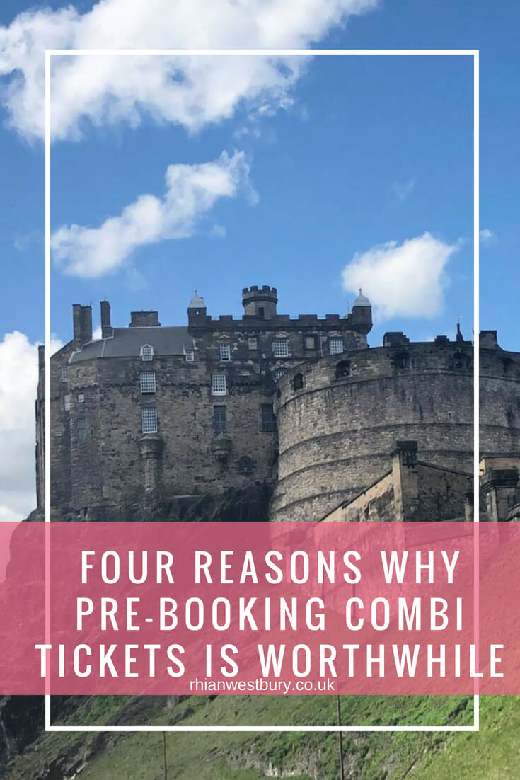 Four Reasons Why Pre-Booking Combi Tickets Is Worthwhile