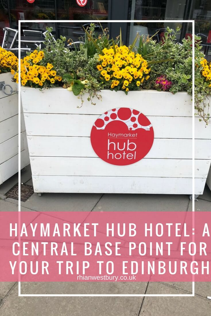 Haymarket Hub Hotel - A Central Base Point For Your Trip To Edinburgh