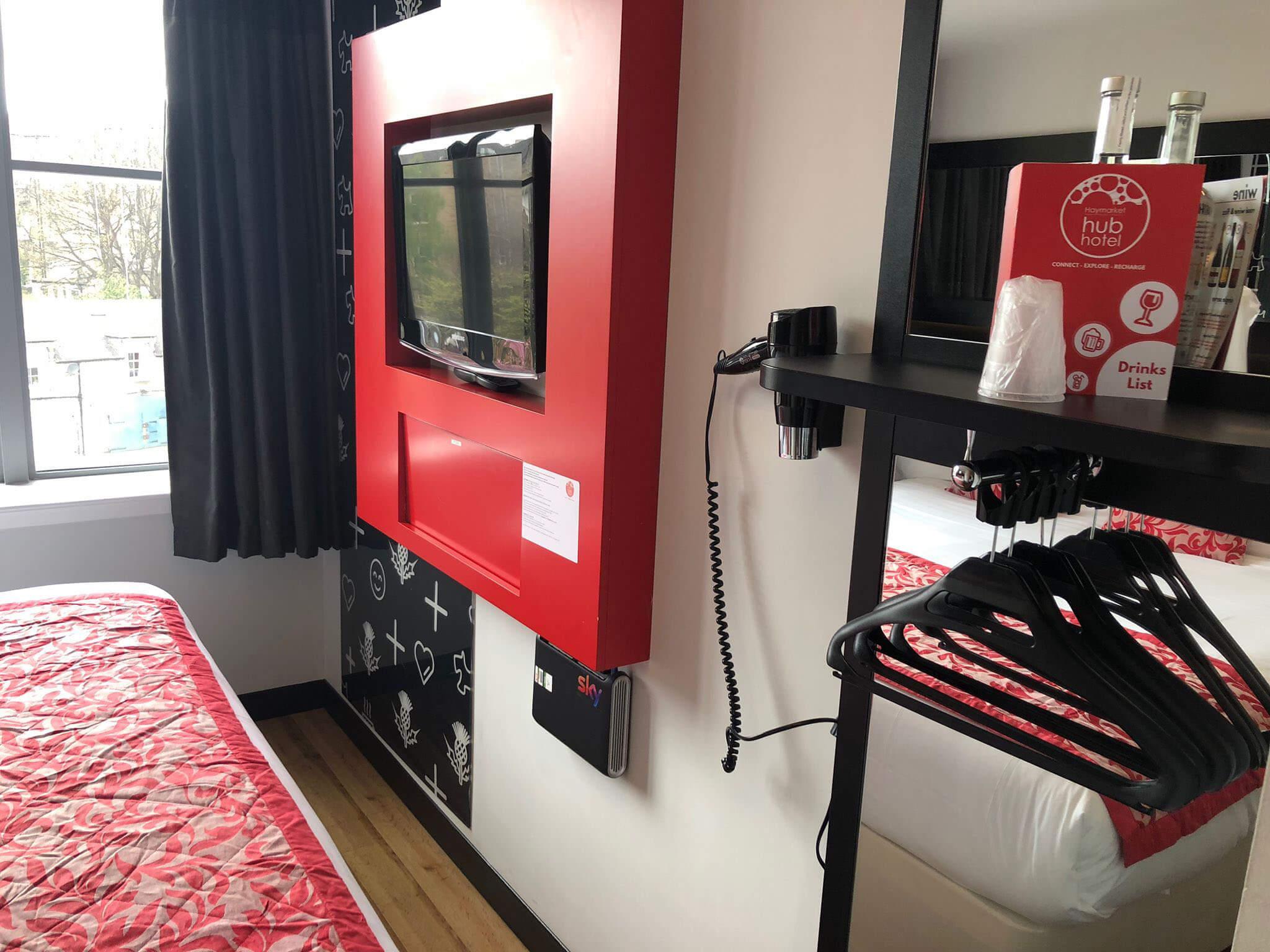 Haymarket Hub - Room layout
