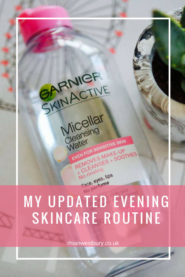 My Updated Evening Skincare Routine