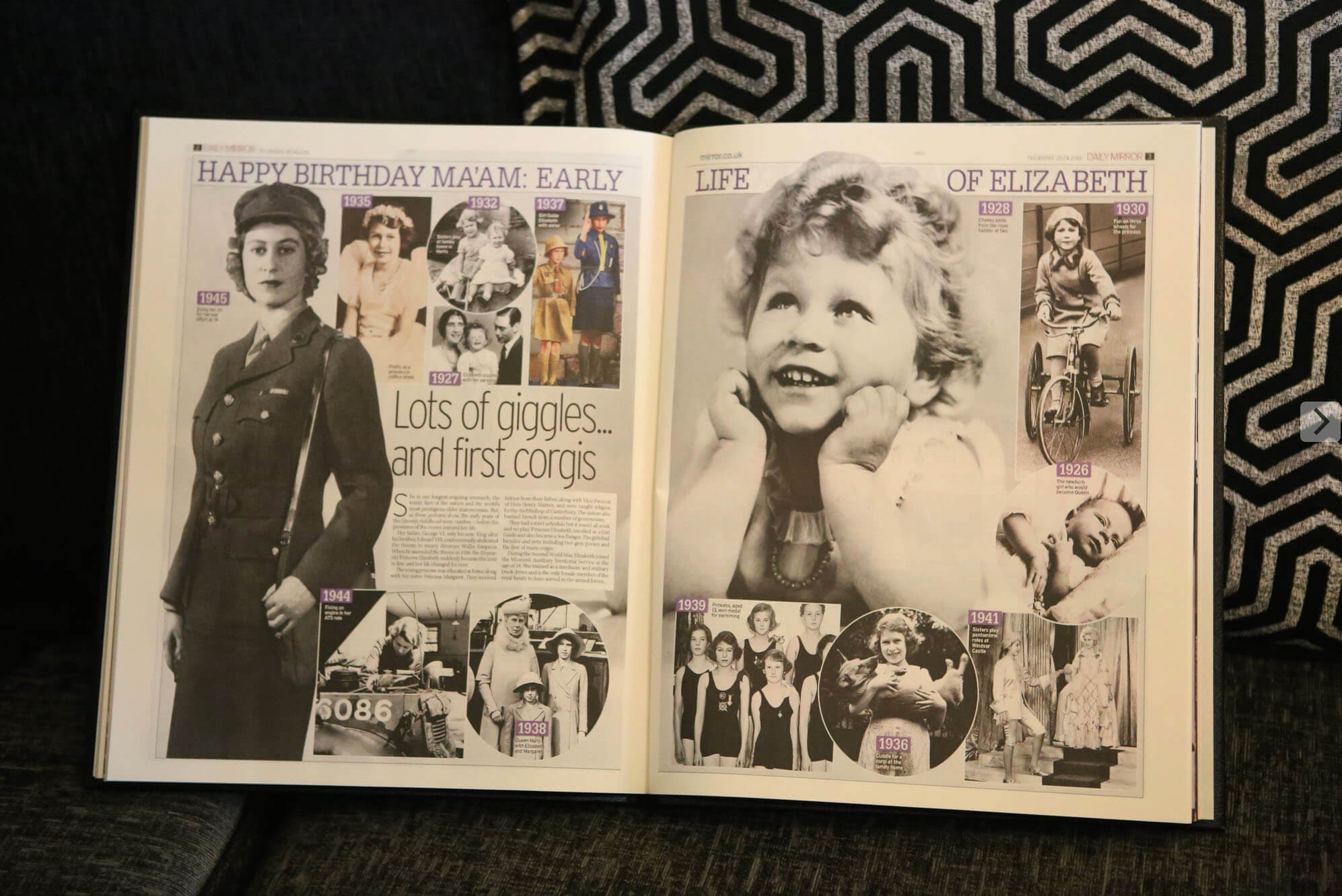 Newspaper Picture Book Inside