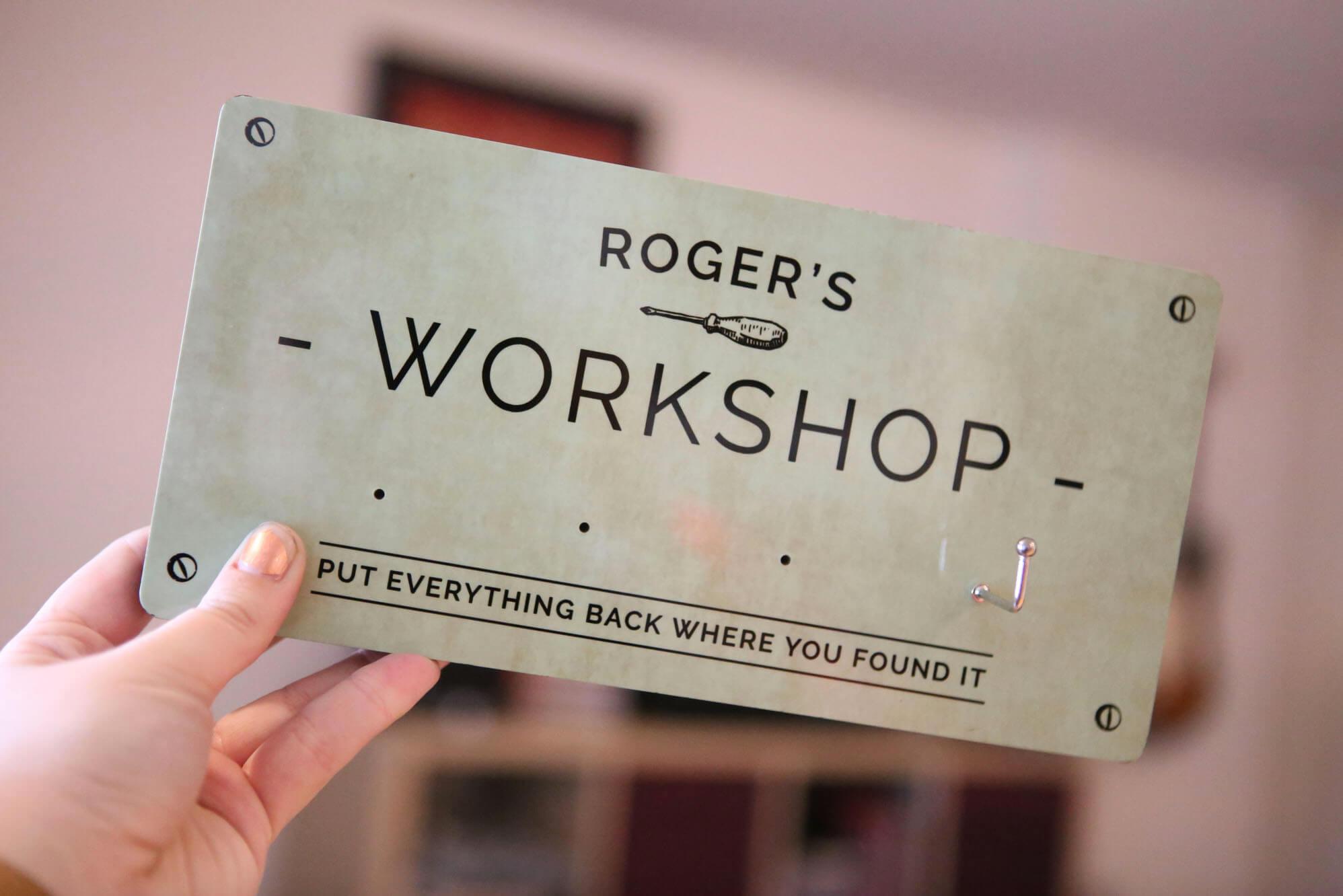 Rogers Workshop Hooks