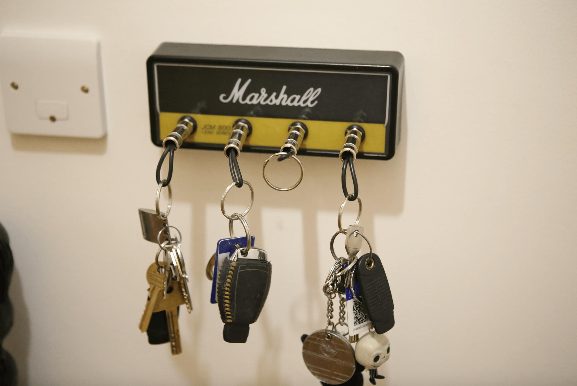 marshall amp key storage