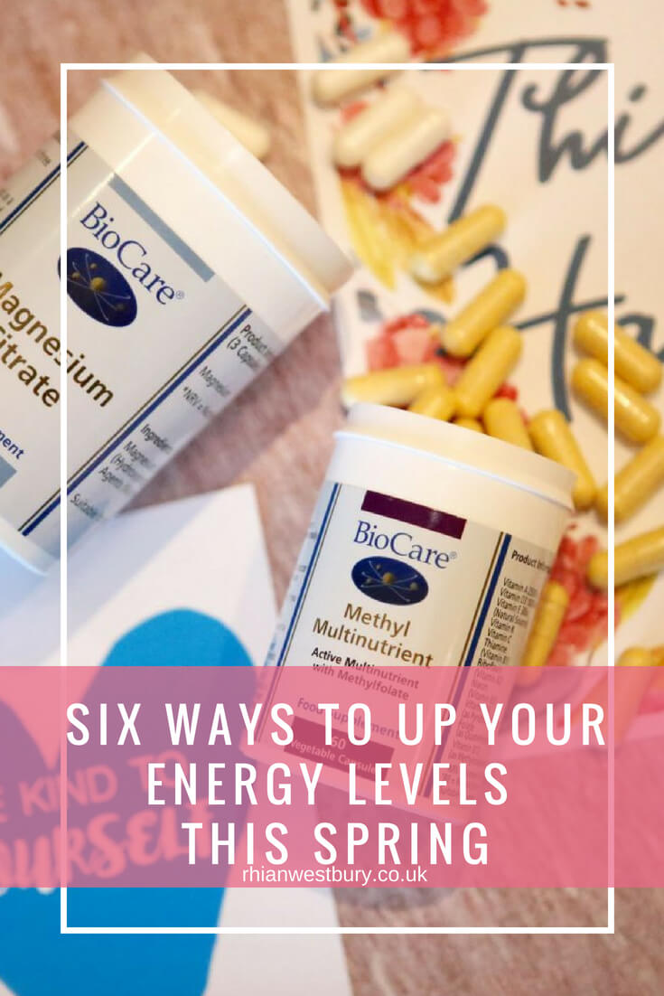 Six Ways To Up Your Energy Levels This Spring