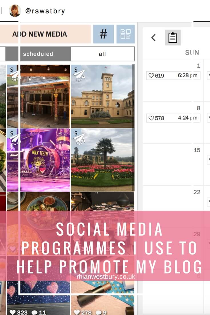 Social Media Programme I Use To Help Promote My Blog