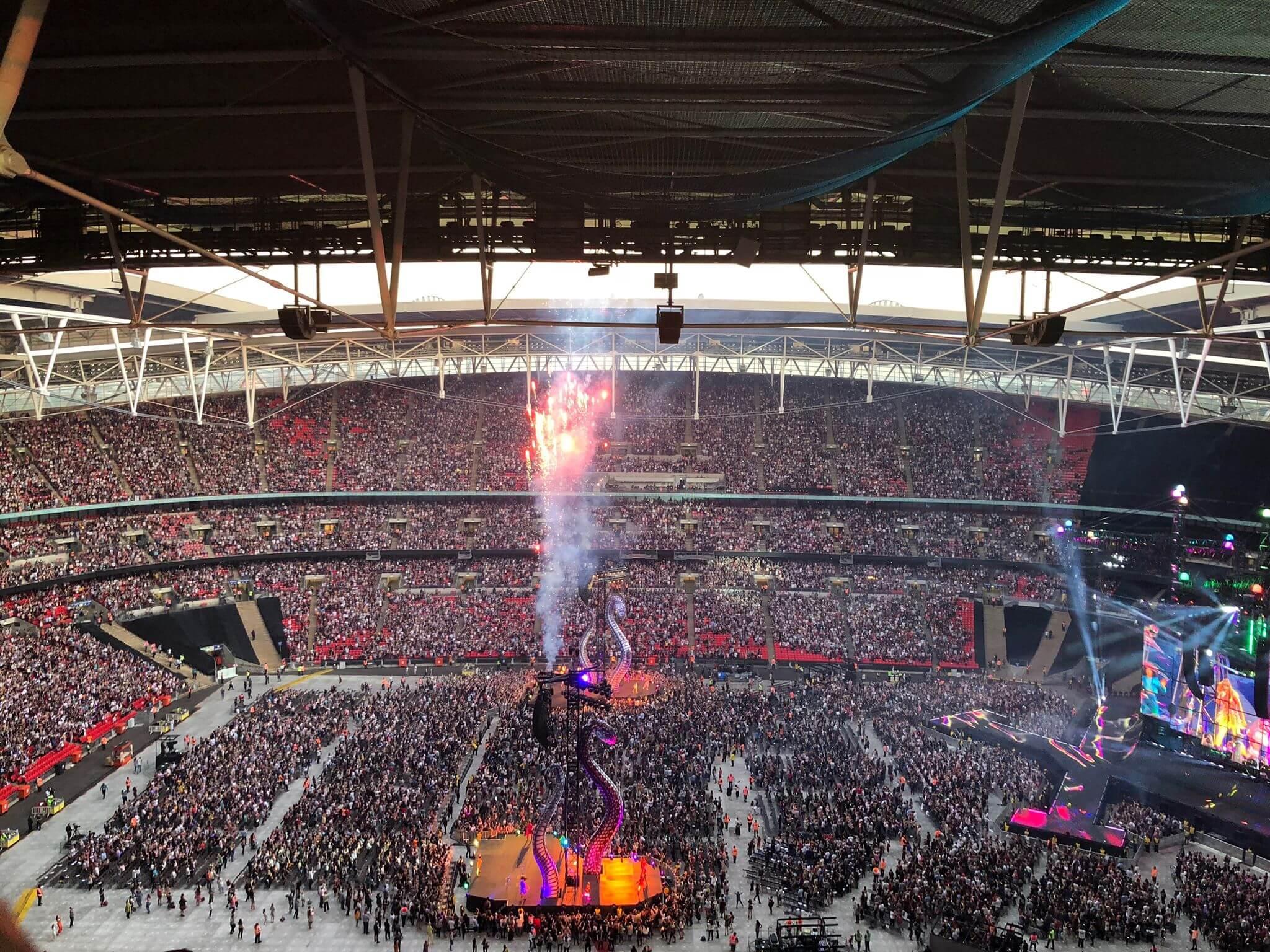 Taylor Swift at Wembley Stadium
