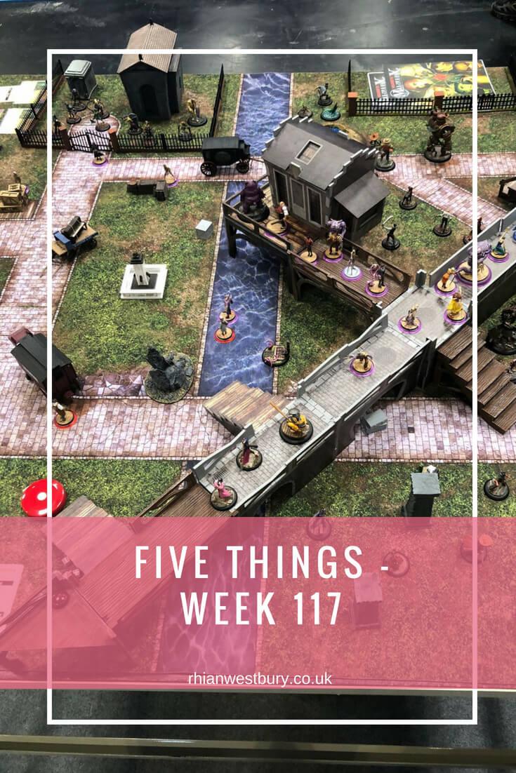 Five Things - Week 117