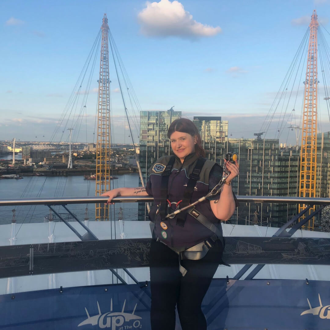 Conquering The World By Climbing The O2 Arena