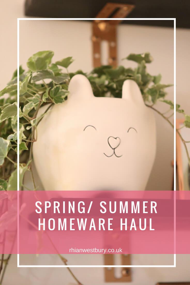 Spring_ Summer Homeware Haul
