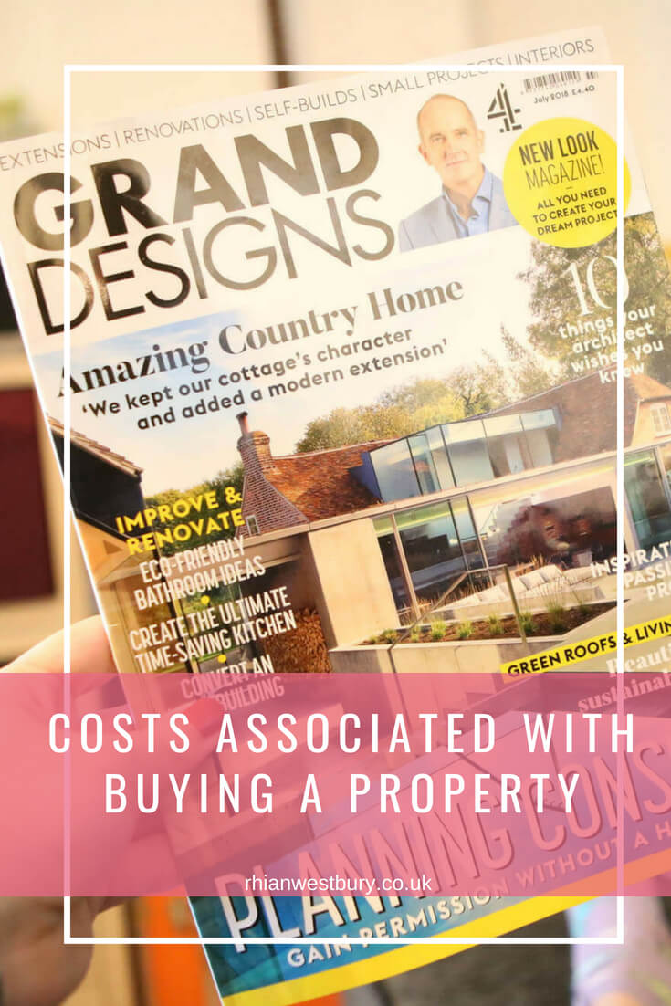 Costs Associated With Buying A Property