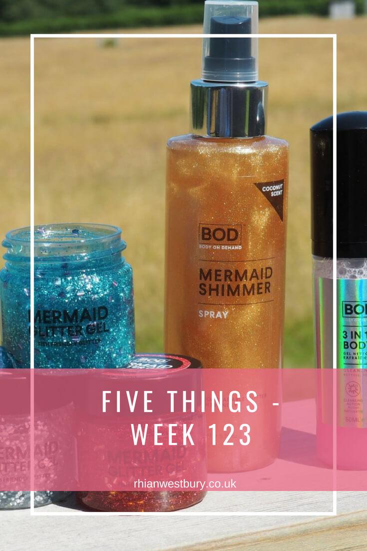 Five Things - Week 123