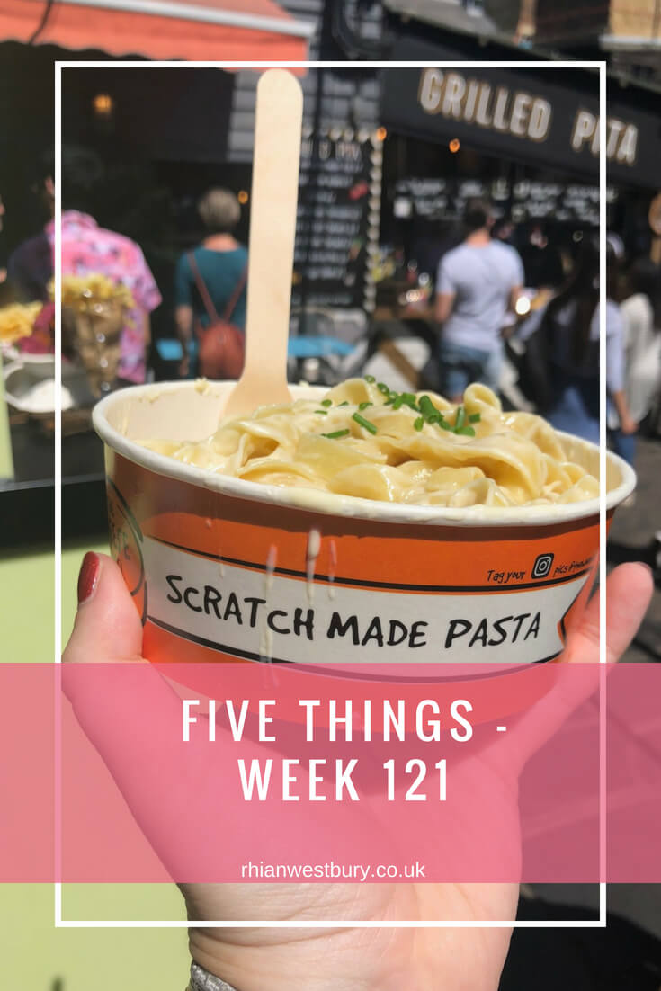Five Things - Week 121