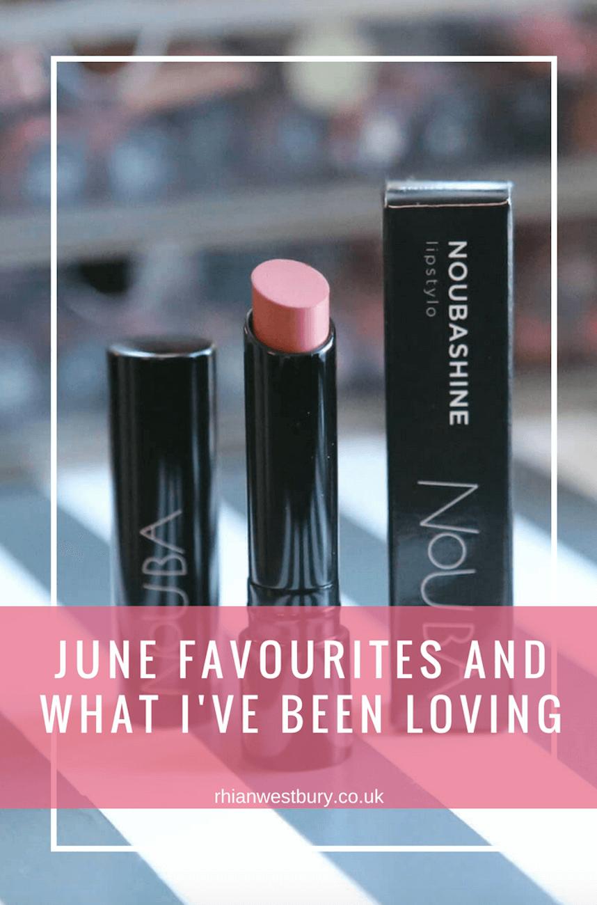 june favourites - image of noun lipstick