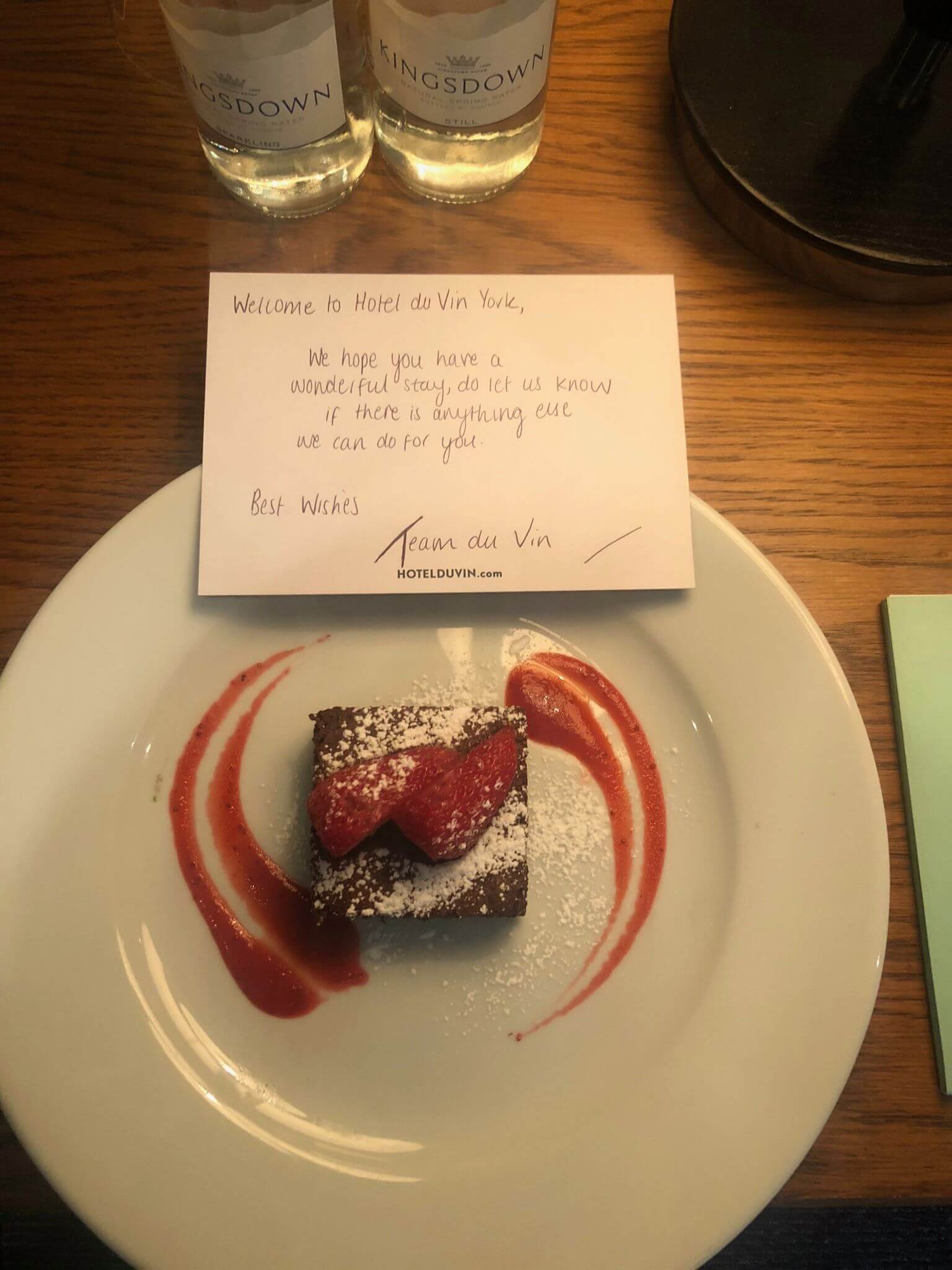 hotel du vin and bistro brownie