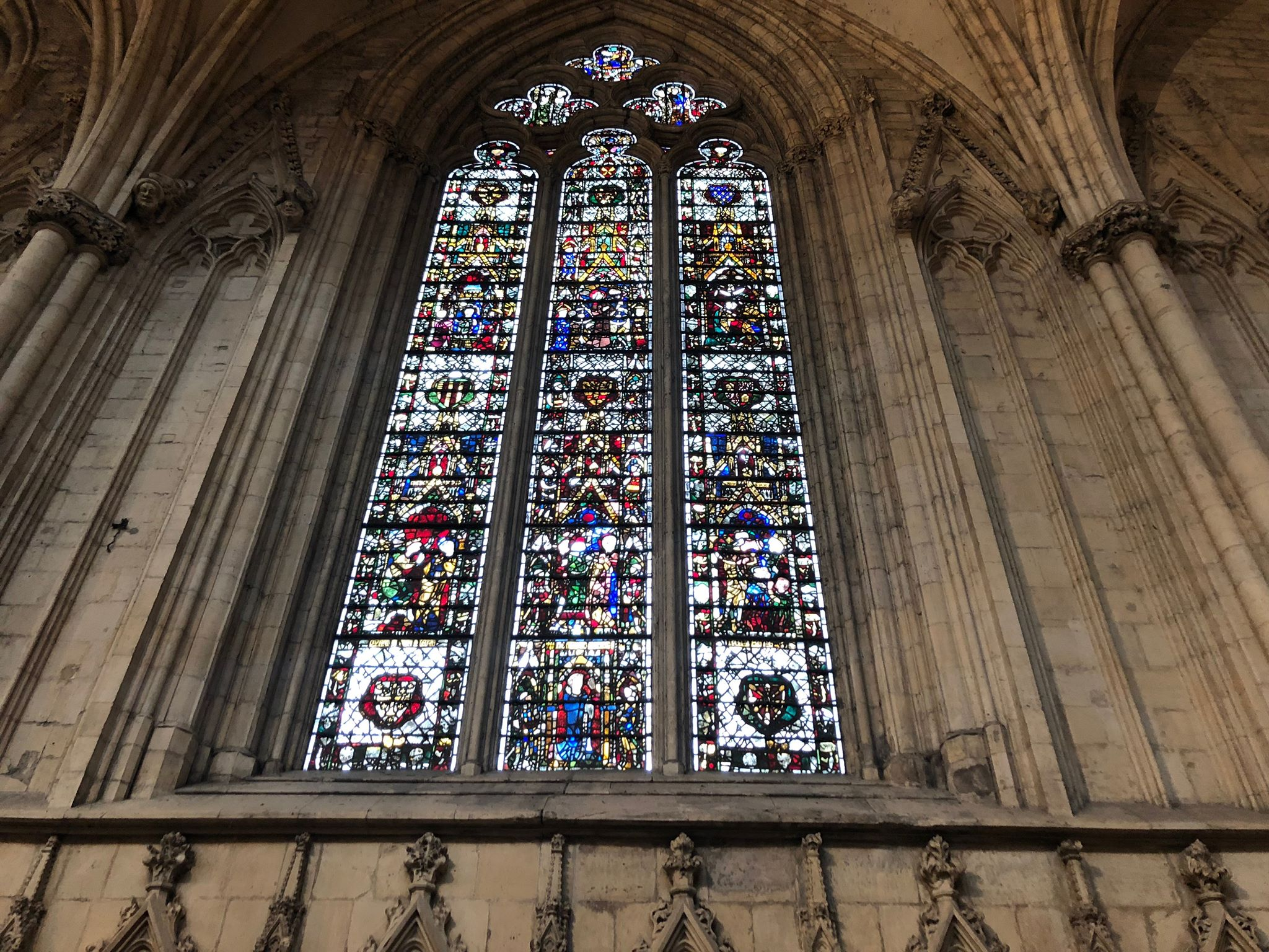 york minster stained glass window