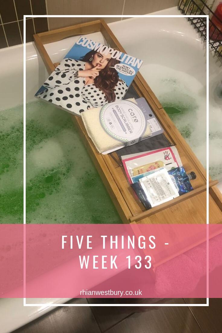 Five Things - Week 133