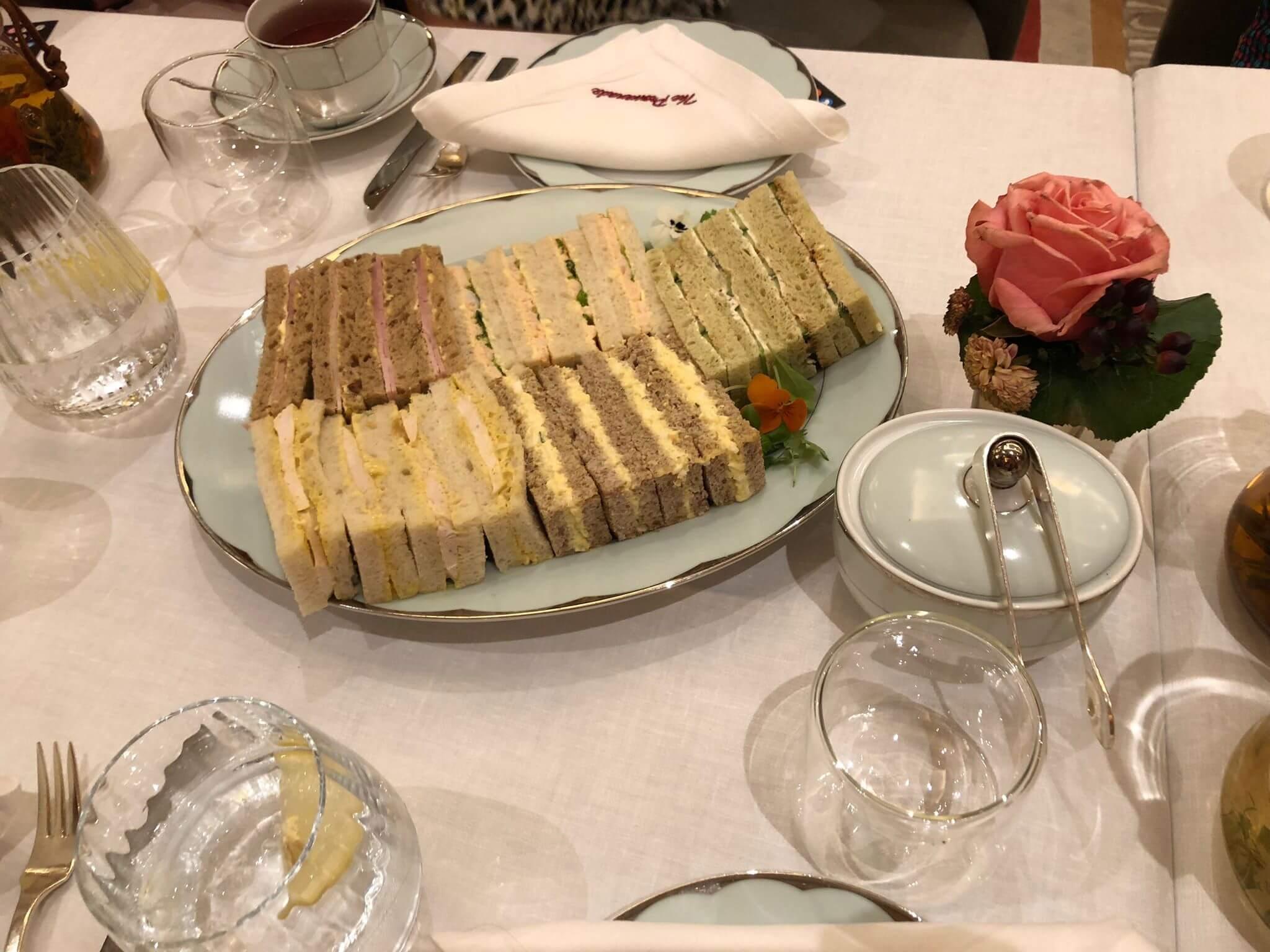 the dorchester afternoon tea sandwiches