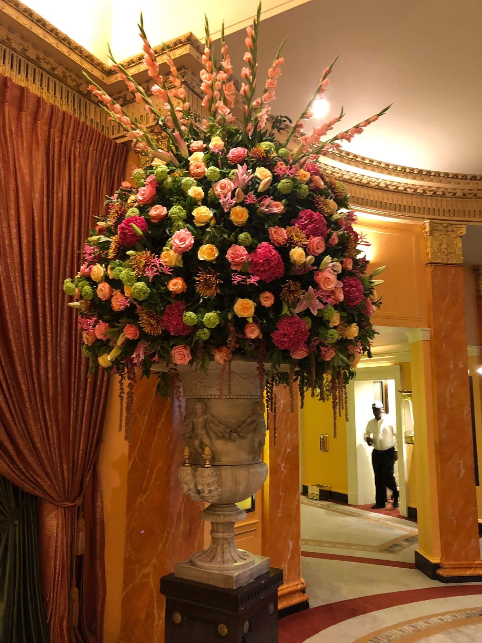 the dorchester afternoon tea foyer