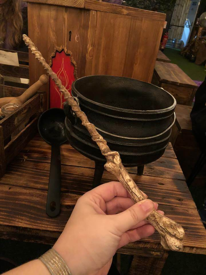 the cauldron wand and cauldron