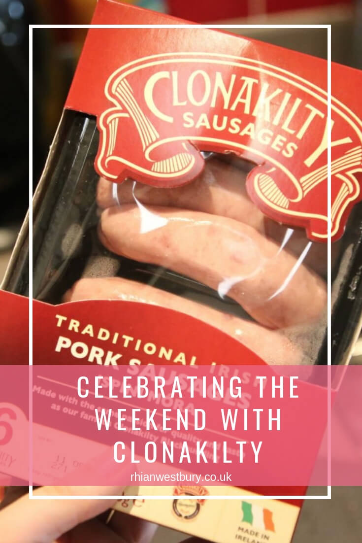 Celebrating The Weekend With Clonakilty