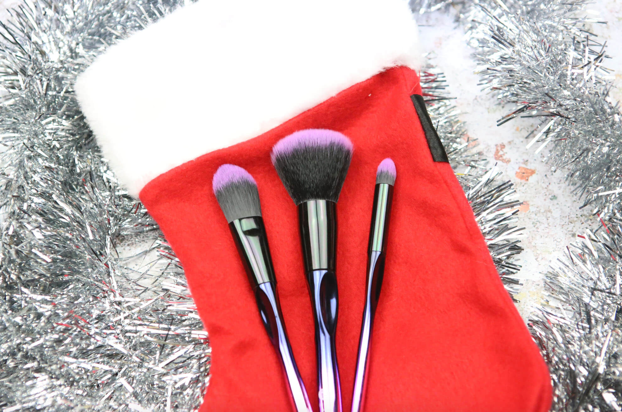 Christmas Make Up Brushes