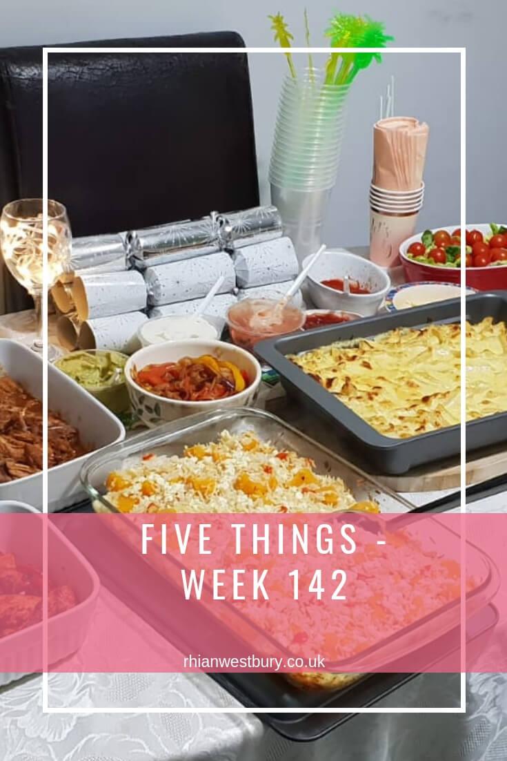 Five Things - Week 142