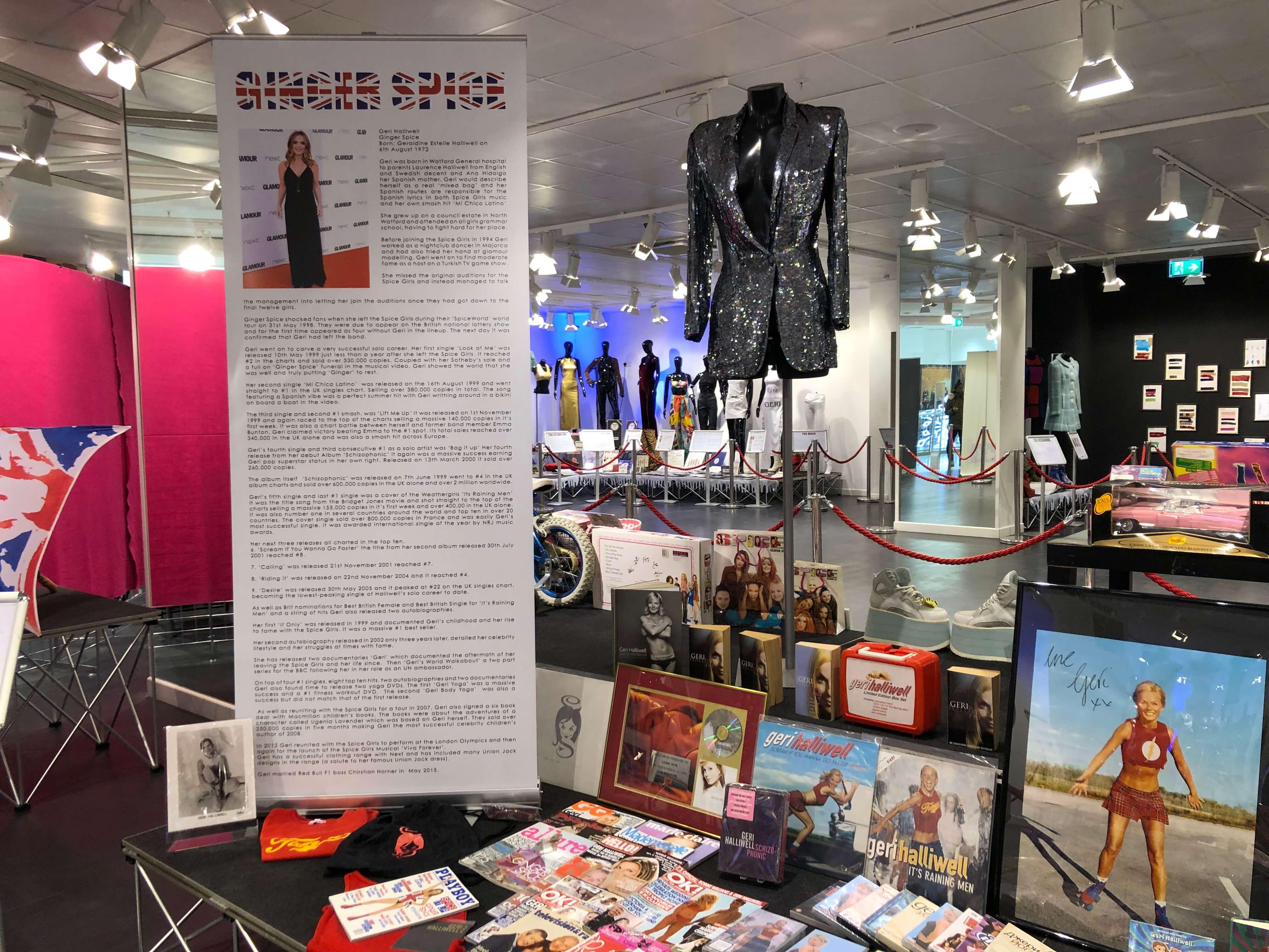 Ginger Spice - Spice Girls Exhibition