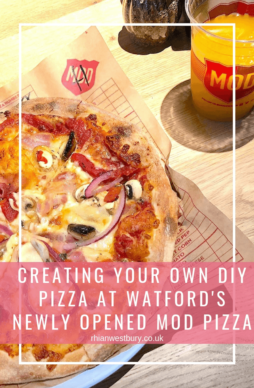Creating Your Own DIY Pizza At Watford's Newly Opened MOD Pizza